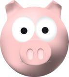 Porc rose Images libres de droits