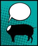 Porc sans tête Images libres de droits