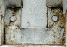 Porca oxidada Imagem de Stock Royalty Free