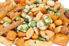 Porcas misturadas e biscoitos salgados Foto de Stock
