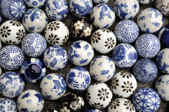 Porcelain ball background Royalty Free Stock Photography
