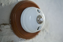 Porcelain bell  switch Royalty Free Stock Photography