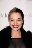 Porcelain Black. At Google And T-Mobile Celebrate The Launch Of Google Music, Mr. Brainwash Studios, Los Angeles, CA 11-16-11 Stock Images