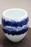 The Porcelain. A blue and white porcelain produced by China Stock Images