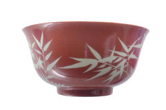 Porcelain bowl Stock Photos