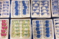 Porcelain bowl Stock Image