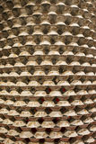 Porcelain Bowl. Stack of porcelain bowl background Stock Photography