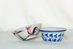 Porcelain bowl White background. Porcelain bowl,White background,cup,asia stock photo