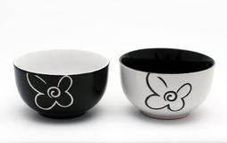 Porcelain bowls Royalty Free Stock Image