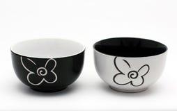 Porcelain bowls Royalty Free Stock Image
