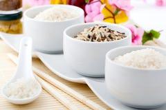 Porcelain bowls Stock Image