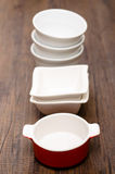 Porcelain bowls Royalty Free Stock Photography