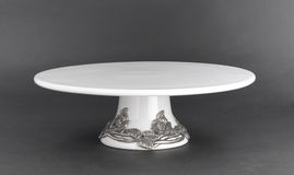 Porcelain cake stand Stock Images