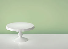 Porcelain cake stand Royalty Free Stock Images