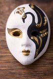 Porcelain carnival mask Royalty Free Stock Photo