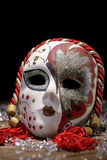 Porcelain carnival mask Royalty Free Stock Photography