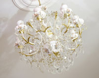 Porcelain chandelier Royalty Free Stock Photography