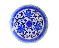 Porcelain chinese painted isolated Stock Photography