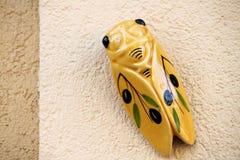 A porcelain cicada Royalty Free Stock Photos