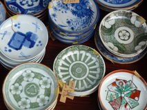 Porcelain Circles Stock Photos