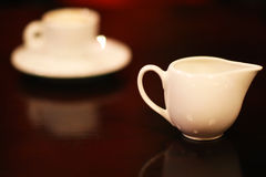 Porcelain Coffee cup Stock Image