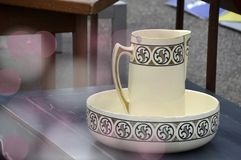 Porcelain, Coffee Cup, Tableware, Serveware royalty free stock photography