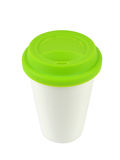 Porcelain Container with a Lid Royalty Free Stock Photo