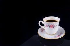 Porcelain cup. Beautiful porcelain antique coffee cup Stock Images