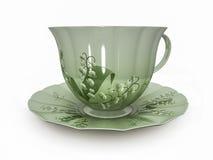 Porcelain cup Stock Photo