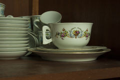 Porcelain cup of tea Royalty Free Stock Images