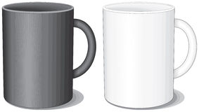 Porcelain cups Royalty Free Stock Images