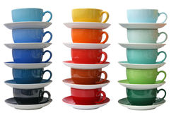 Porcelain cups Royalty Free Stock Photos
