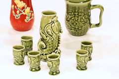 Porcelain cups Stock Photo