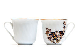 Porcelain cups Royalty Free Stock Photo