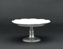 A porcelain dessert stand Royalty Free Stock Photo