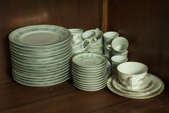Porcelain dinnerware Stock Images
