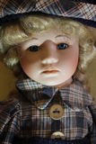 Porcelain doll Royalty Free Stock Image
