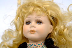 Porcelain doll  Royalty Free Stock Photography