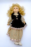 Porcelain doll  Stock Images