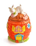 Porcelain easter Royalty Free Stock Photography