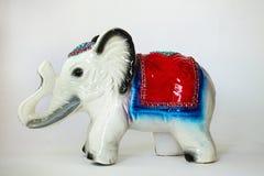 Porcelain elephant royalty free stock photo