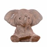 Porcelain elephant Stock Photography