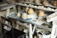 Porcelain factory,Jingdezhen China Royalty Free Stock Photography