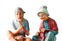 Porcelain figures Stock Photo