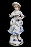 Porcelain figurine Royalty Free Stock Photography