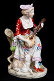 Porcelain figurine Royalty Free Stock Images