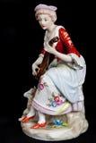 Porcelain figurine Stock Photos