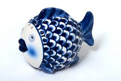 Porcelain Fish Royalty Free Stock Images