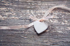 Porcelain heart Stock Photo