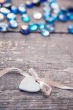 Porcelain heart Royalty Free Stock Photos